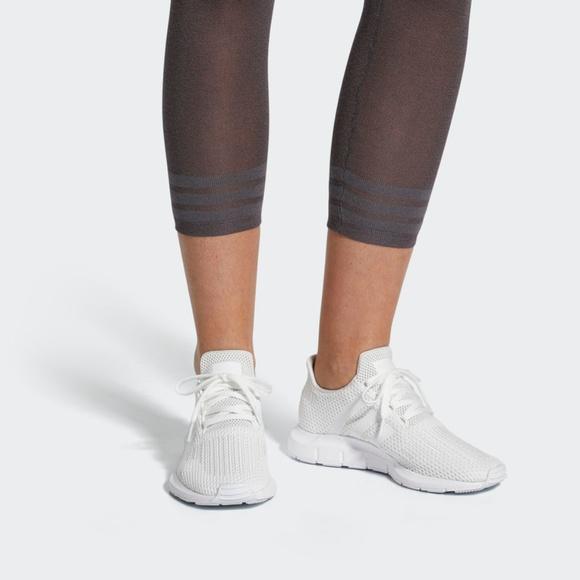 White Adidas Swift Run W Footwear White